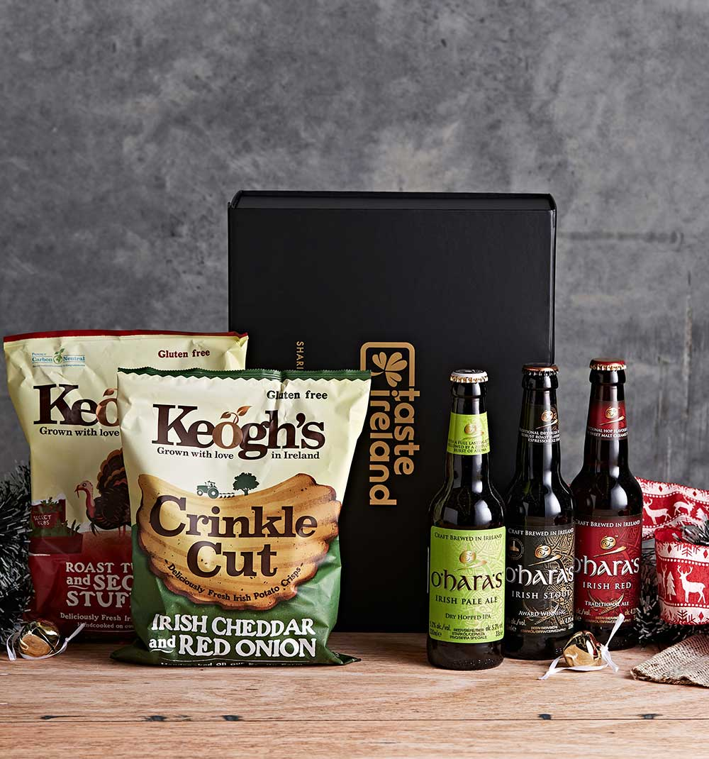Craft Beer and Crisps Hamper (FREE Shipping to Oz) image