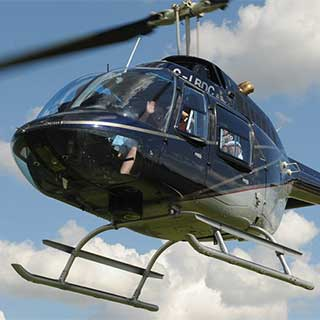 20km Helicopter Flight