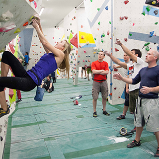 Intro to Bouldering image