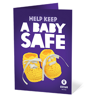 Oxfam Care for a Baby Gift image