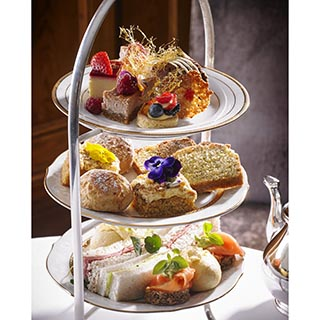 Champagne Afternoon Tea for 2 at Hayfield Manor