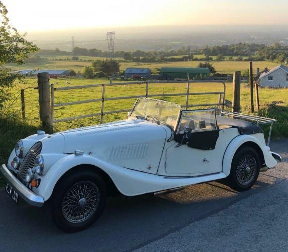 Morgan 4/4 Classic White