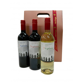 7 Explorers x3 Wine Hamper image