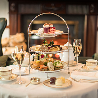 Classic Afternoon Tea for Two at Sheen Falls