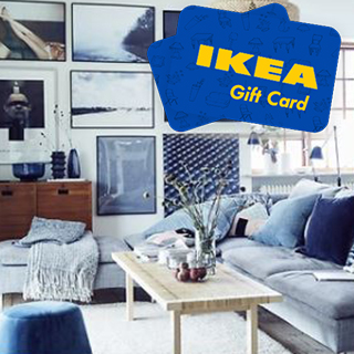 €300 IKEA Gift Voucher