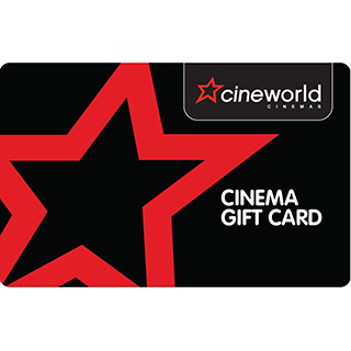 £25 Cineworld UK Voucher image