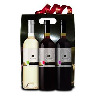 3 Bottle Platino Wine Hamper image