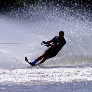Waterskiing Break for 2 image