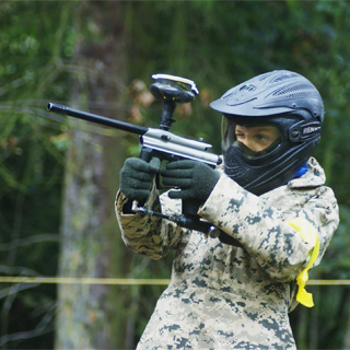 Junior Paintballing for 2 image