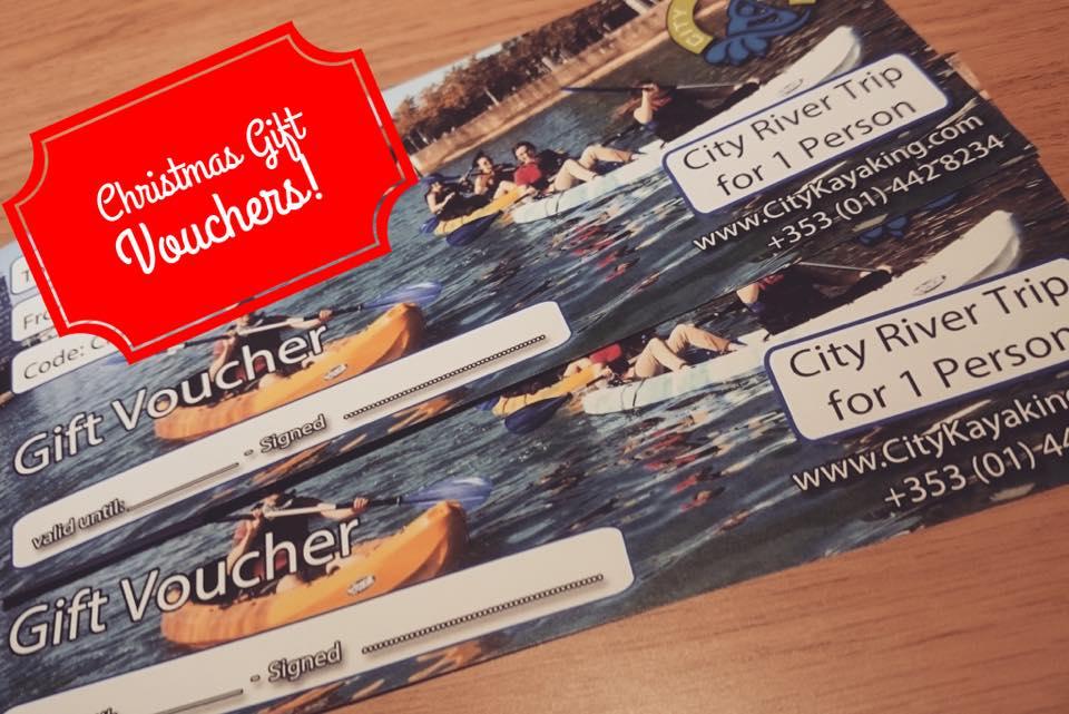 City Kayak Gift Voucher