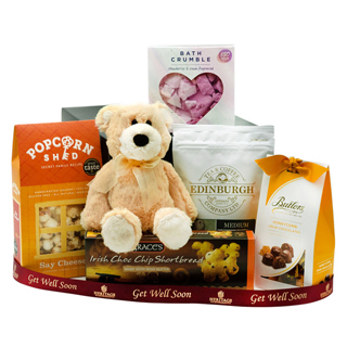 Get Well Soon Teddy Hamper image