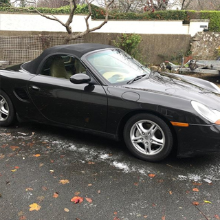 Black Porsche Boxster Classic Weekend Experience image