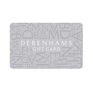 €10 Debenhams Gift Voucher