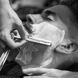 Grafton Barber Royal Open Razor Shave image
