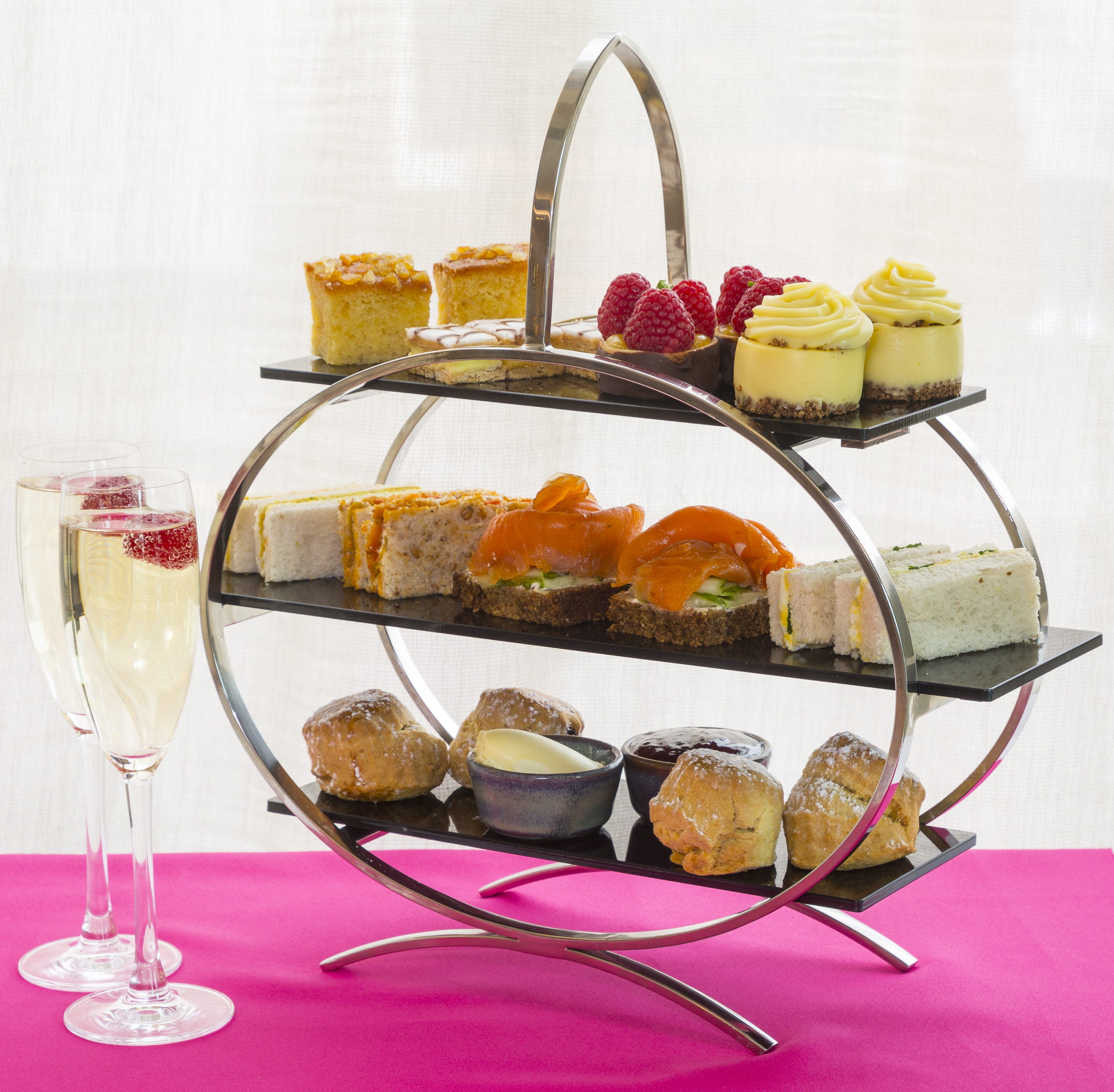 Bubbly Afternoon Tea for Two in The Morrison Hotel image