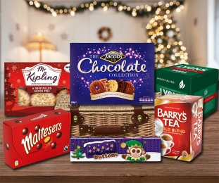 Festive Treats Hamper (FREE Delivery to USA) image