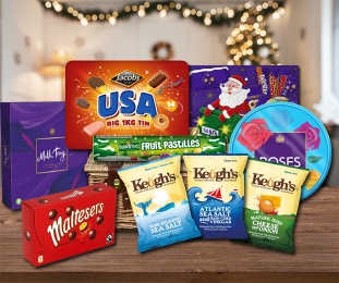 Seasons Greetings Hamper (FREE Delivery to USA) image