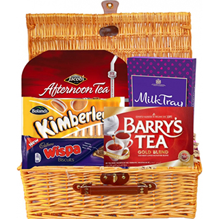 Afternoon Tea Gift Basket (FREE Delivery to USA)