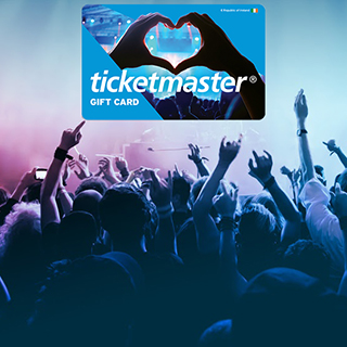 €300 Ticketmaster Voucher