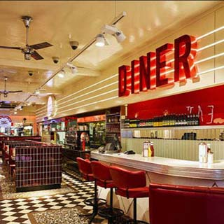Dinner for 2 at Eddie Rockets image