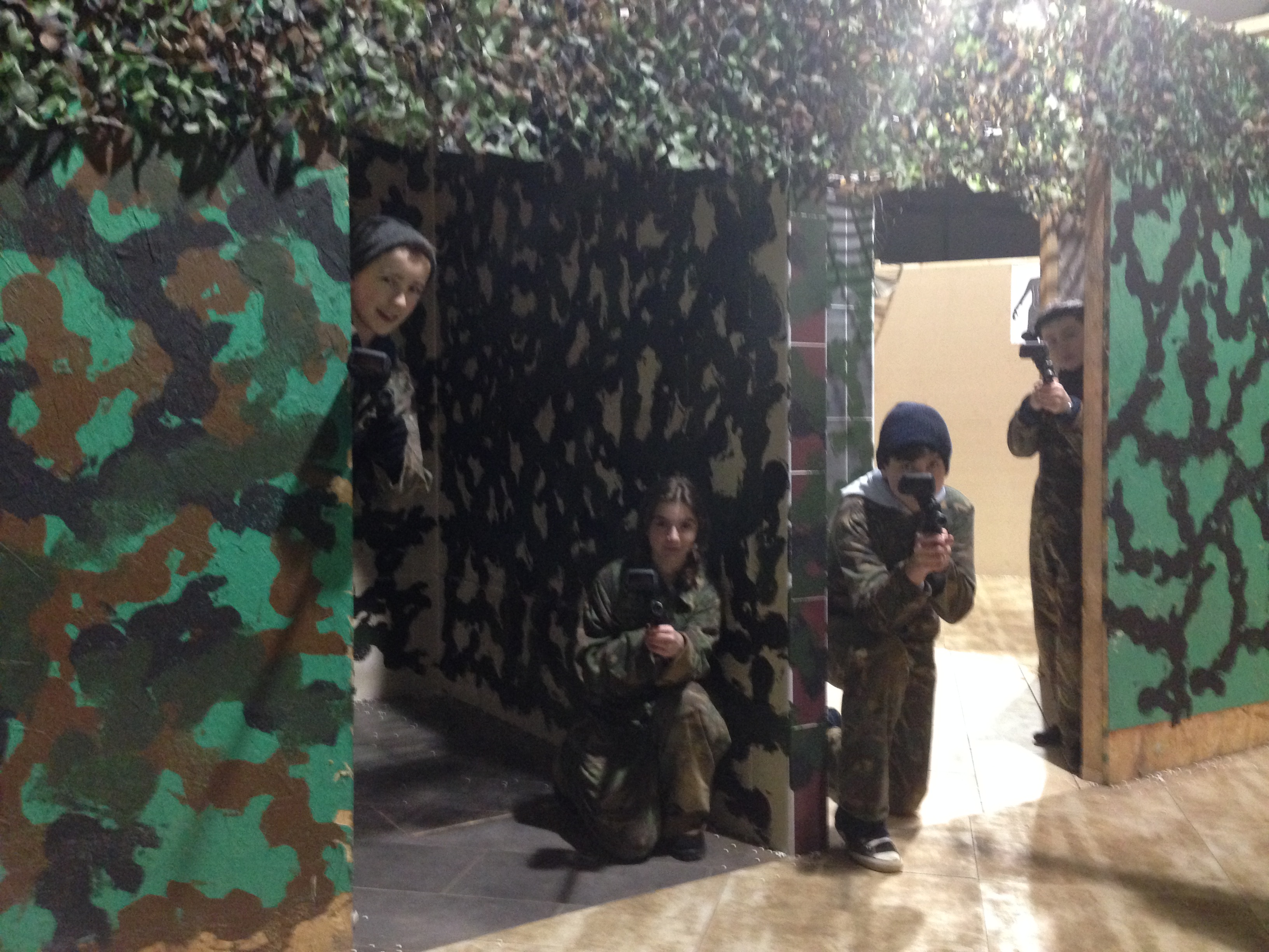 Indoor Laser Tag Combat Session