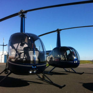 10km Helicopter Flight for 3
