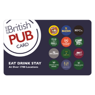 Great British PubCard (P)