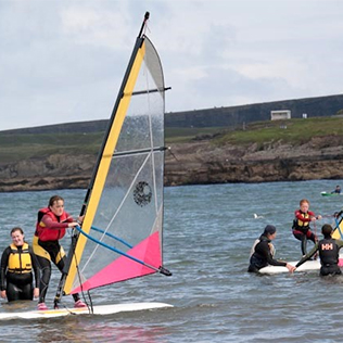 A Taste of Windsurfing image