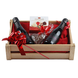 Rose Spumante Treat Box Christmas Hamper image
