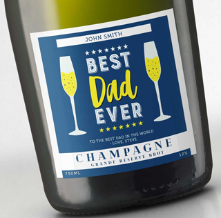 Fathers Day Champagne - Best Dad Ever image
