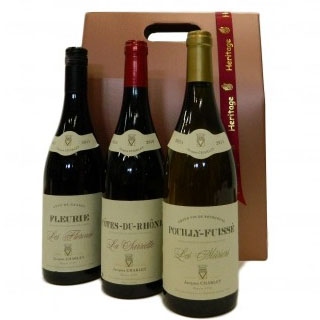 Trio of Jacques Charlet Wine Hamper image