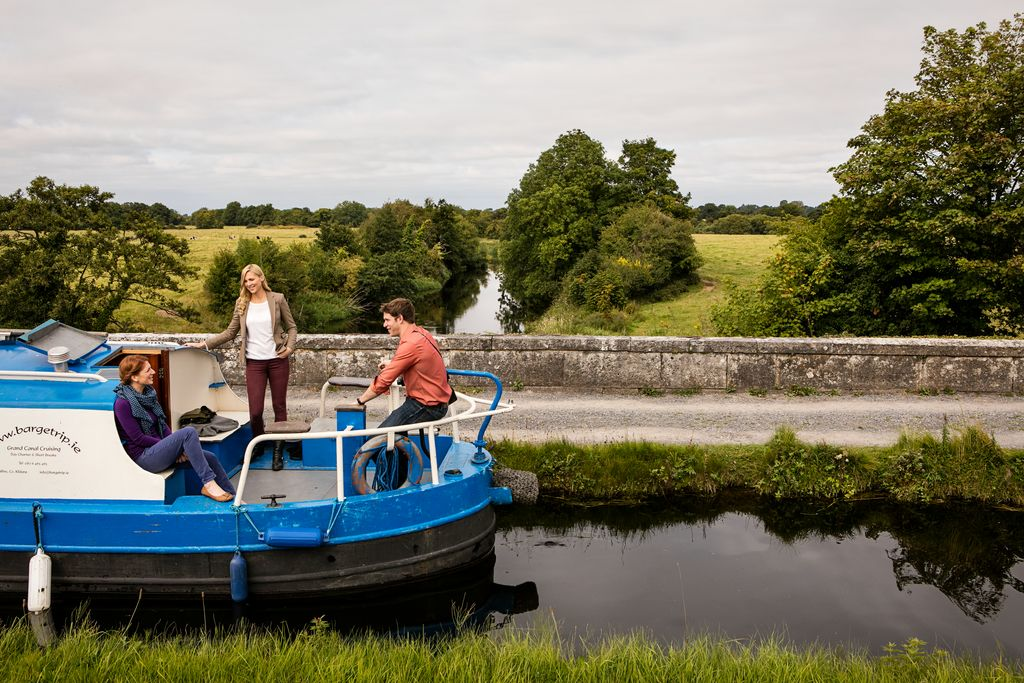 Leinster Aqueduct Cruise for 8 image
