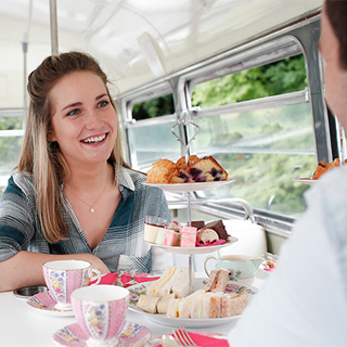 Vintage Bus Afternoon Tea