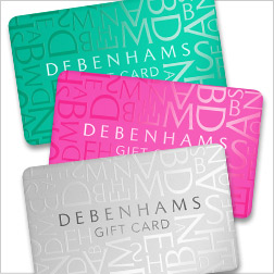 €75 Debenhams Gift Voucher image