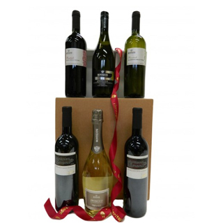 Italian 6 Bottle Wine Hamper image
