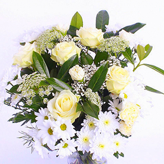 All White Bouquet image