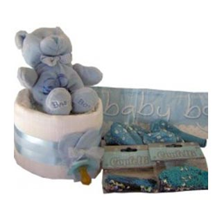 Baby Shower Box - Blue