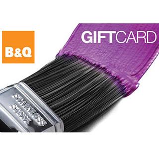 B&Q Gift Vouchers