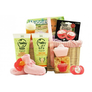 Baby Girl Cupcake Hamper