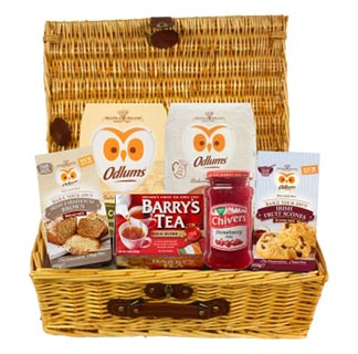 Hampers to usa online gifts to usa allgifts the irish bakers basket free delivery to usa image negle Gallery