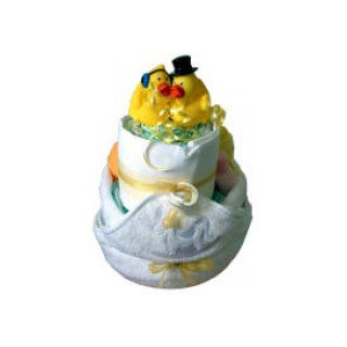 Bath Time Nappy Cake image