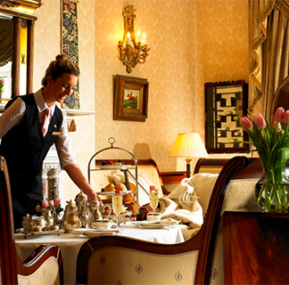 Prosecco Afternoon Tea for 2 at Hayfield Manor image