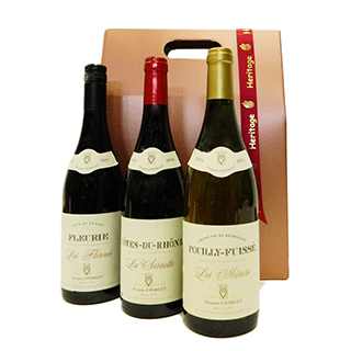 3 Bottle Wine Gift image
