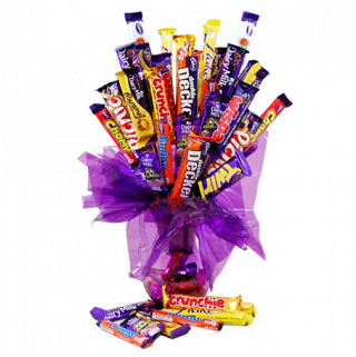 Cadbury Birthday Chocolate Bouquet image
