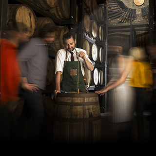 Jameson Whiskey Maturation House Cask Draw