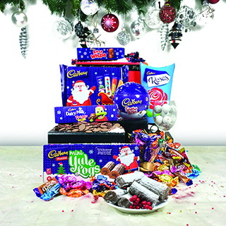 Cadbury Chocolate Christmas Hamper image
