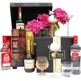 Cellar Book Case Spirit Christmas Hamper image