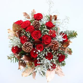 Christmas Roses Bouquet image