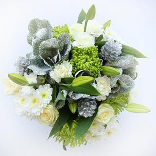 Christmas Snow Drift Bouquet image