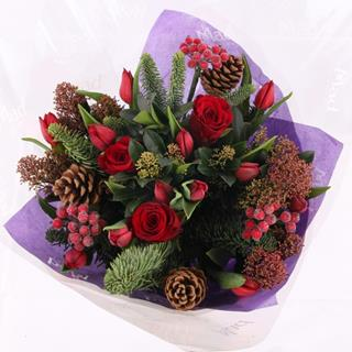 Christmas Trendy Flowers image